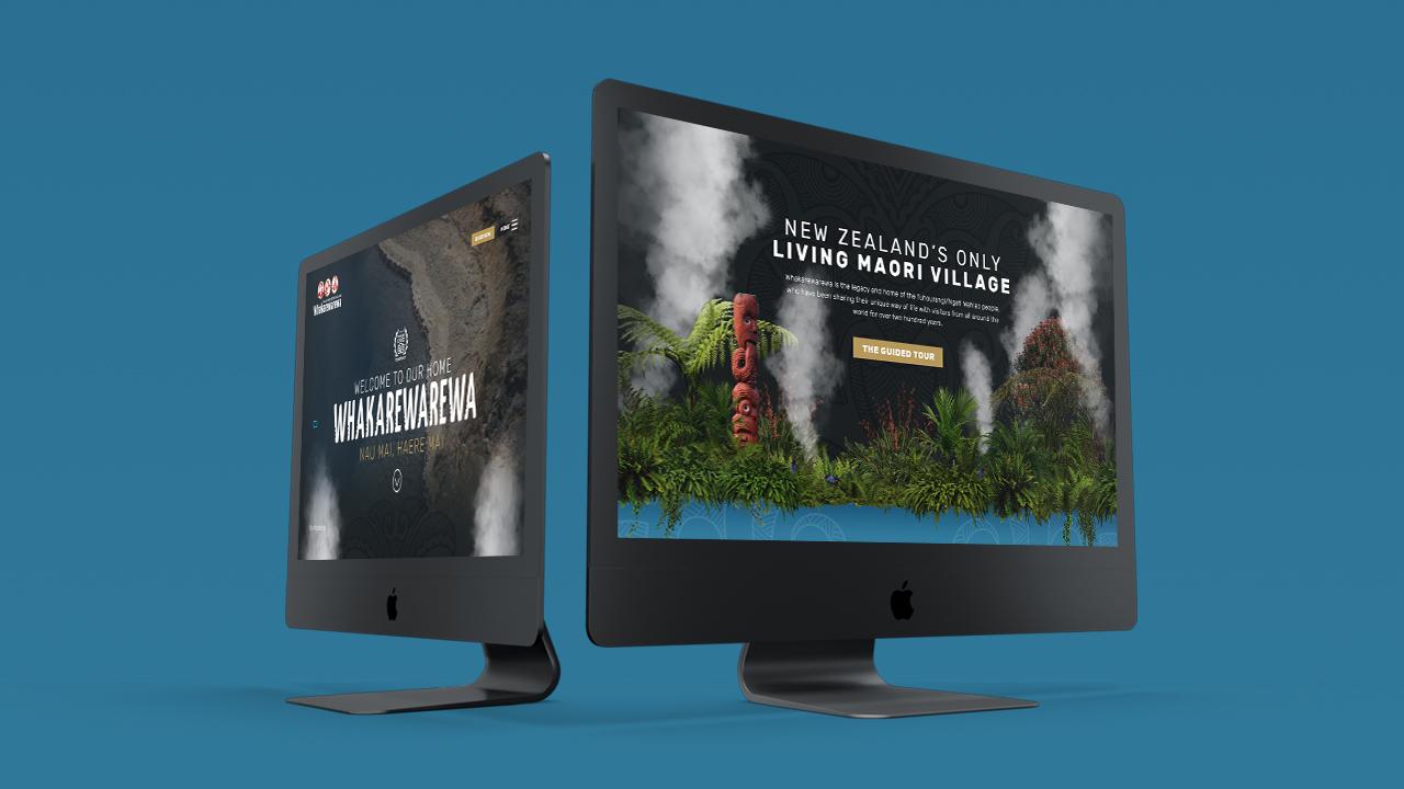 Whakarewarewa New Zealand - Website Built - Maverick Digital