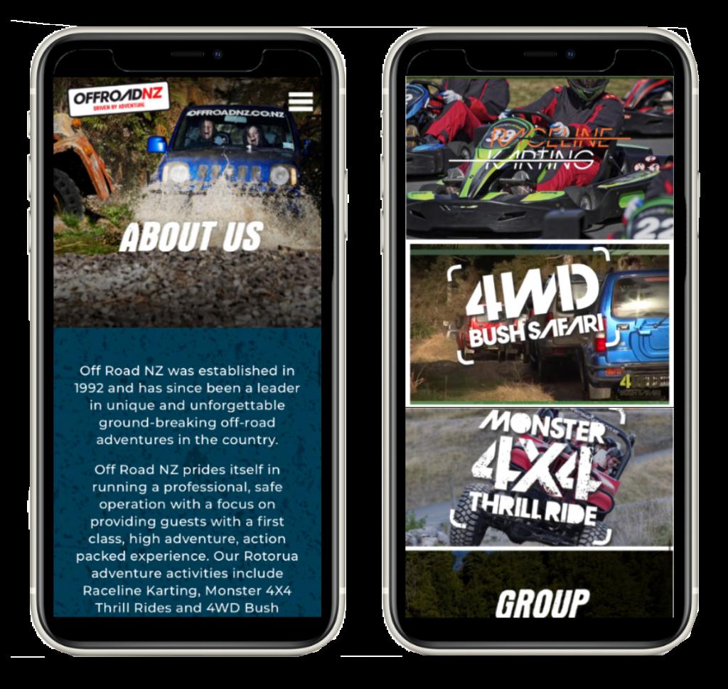 Off Road NZ - Creating Web Experience - Maverick Digital