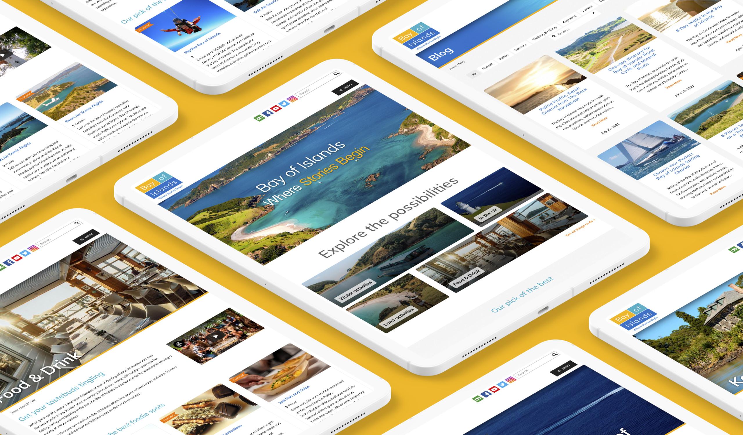 Bay Of Islands - SEO & Technical Updates - Maverick Digital