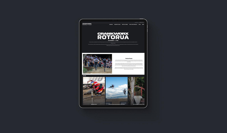 Crankworx Rotorua - Digital Activation - Maverick Digital