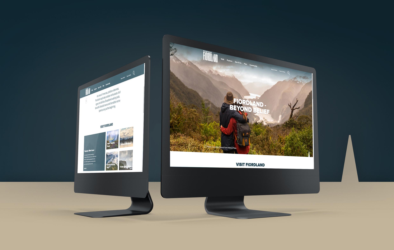 Fiordland Website - Maverick Digital