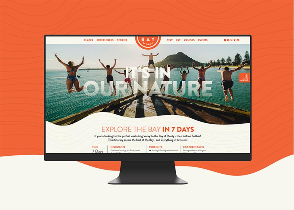 Tourism Bay of Plenty - DMO Website - Maverick Digital