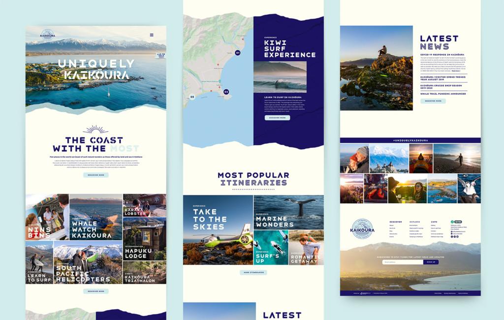 Kaikoura - Rebrand & Website Development - Maverick Digital