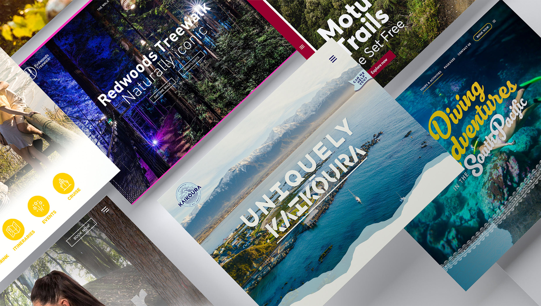 Tourism Website Development - Maverick Digital, NZ