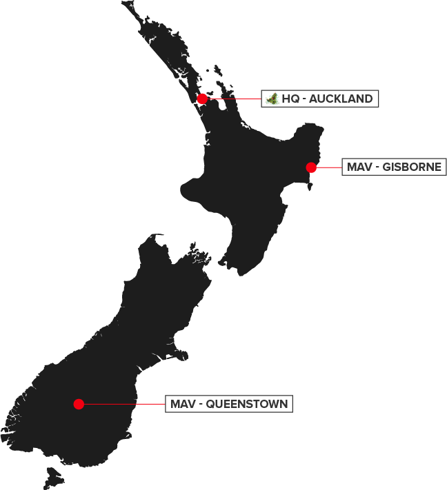 Tourism Digital Marketing Agency - Maverick Digital locations in NZ